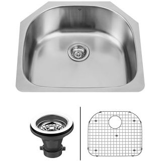 Vigo 24 inch Undermount Stainless Steel Kitchen Sink