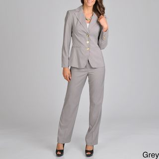 Signature by Larry Levine Womens Career Pant Suit
