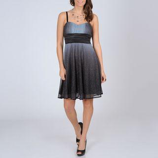 Richards Womens Glitter Knit Party Dress