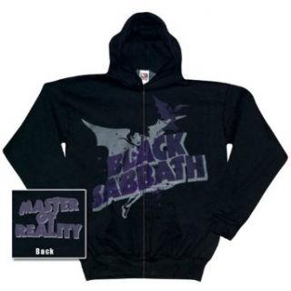 Black Sabbath   Reality Zip Up Hoodie   X Large Clothing