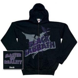Black Sabbath   Reality Zip Up Hoodie   X Large Clothing