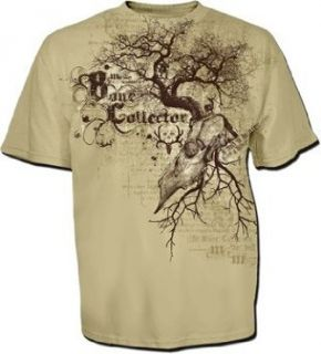 Bone Collector ~ Tree Skull ~ Mens T shirt Hunting NEW