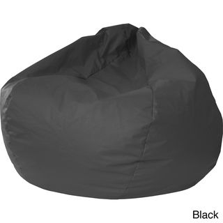 Hudson Industries Small Leather look Vinyl Bean Bag