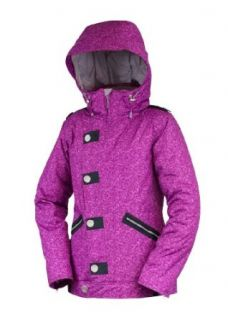 Betty Rides Womens Lucky Plaid Nikki Snowboard/Ski Jacket