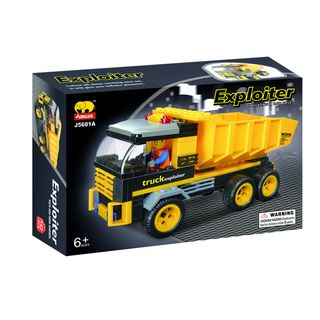 Fun Blocks Construction Dump Truck Brick Set