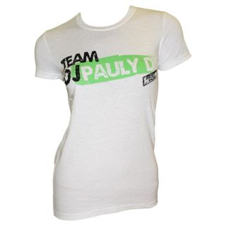 MTV Networks Juniors Team DJ Pauly D White T shirt