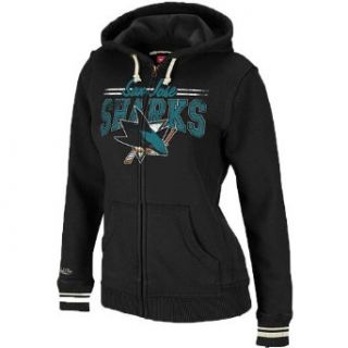 Mitchell & Ness San Jose Sharks Womens Vintage Full Zip
