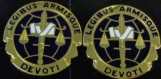 LEGAL SERVICE AGENCY Distinctive Unit Insignia   Pair