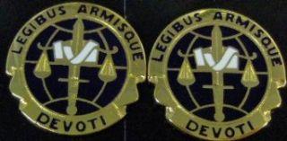 LEGAL SERVICE AGENCY Distinctive Unit Insignia   Pair
