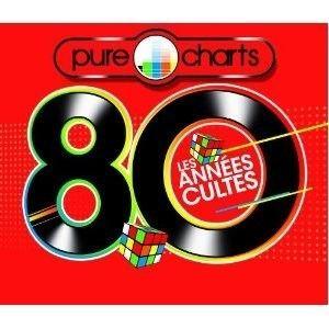 PURE CHARTS 80 LES ANNEES CULTES 2012   Achat CD COMPILATION pas cher