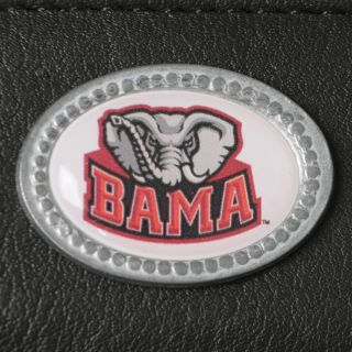 Mens Alabama Crimson Tide NCAA Genuine Leather Money Clip