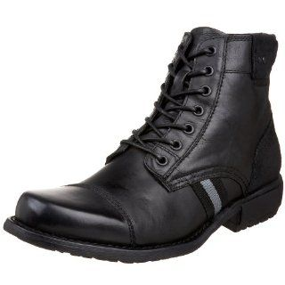Steve Madden Mens Juneau Boot,Black,7 M US Shoes