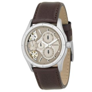 Fossil Mens Stainless Steel Twist Champagne Dial Watch Today $99.99