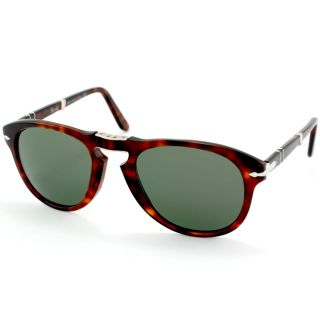Mens PO 714 Steve Mcqueen 24/31 Havana Foldable Plastic Sunglasses