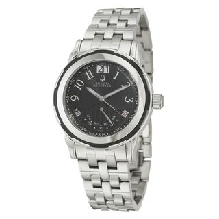 Bulova Accutron Mens Exeter Stainless Steel Quartz Watch