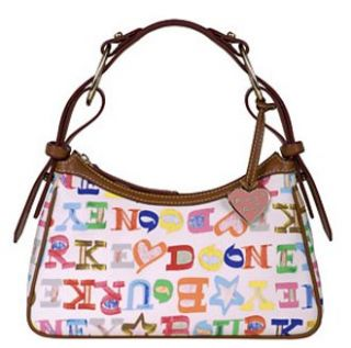 Dooney Bourke Limited Edition Doodle Medium Slouch