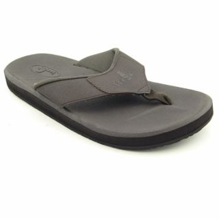 Sanuk Mens Lazy Boy III Brown Cho Sandals (Size 8)