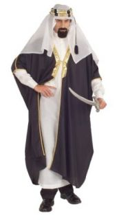 Arab Sheik Halloween Costume for Adults Fits up to size 42