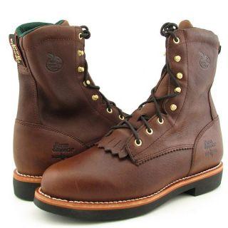 GEORGIA Mens G7014 Brown Boots