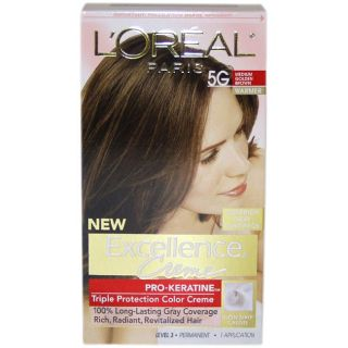 Excellence Creme Pro Medium Golden Brown by LOreal Hair Color