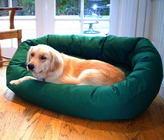 Medium 32 inch Bagel Donut Pet Dog Bed
