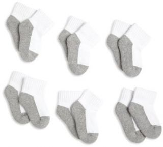 Jefferies Socks, Llc Unisex baby Newborn 6 Pack Seamless