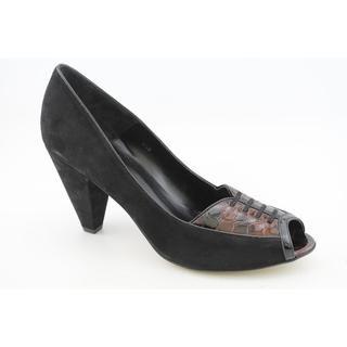 Vaneli Womens Phelan Regular Suede Dress Shoes (Size 8) Narrow
