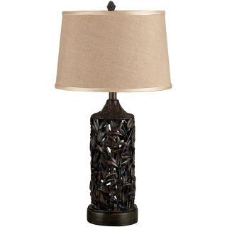 Bimini 29 inch Wood Grain Table Lamp