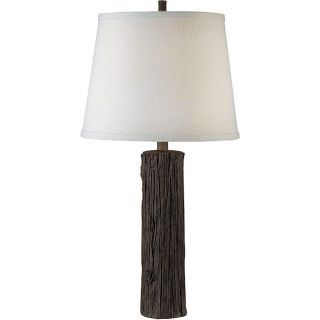 Latimer 29 inch Wood Grain Finish Table Lamp