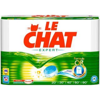 LE CHAT Expert 48 tablettes (1.62 Kg)   Achat / Vente LESSIVE LE CHAT