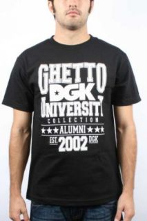 DGK   Ghetto University Short Sleeve T Shirt In Black