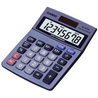 bureau MS 80 VER, solaire/piles   CASIO Calculatrice de bureau MS 80