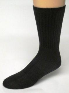 Merino WOOL Socks, Color Black, Size 9 11, 2 Pairs Wool