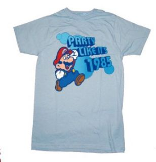 Party Like Its 1985 Super Mario Brothers T Shirt Tee