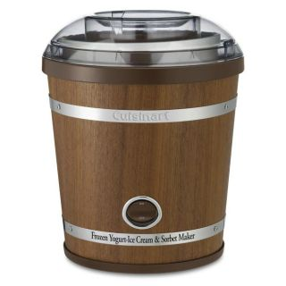 Cuisinart ICE 35 2 qt Wooden Ice Cream Maker