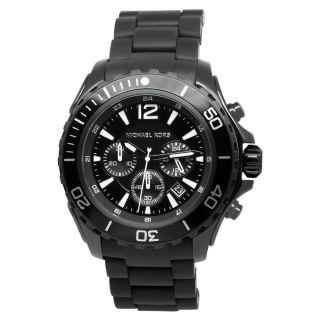 Michael Kors Mens Classic Black Watch