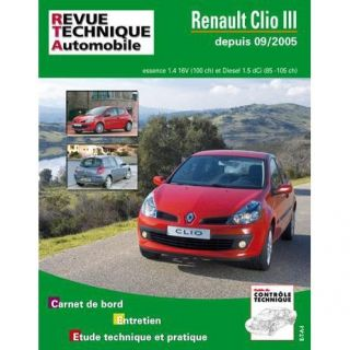 RTA b702.5 Renault Clio III 1,4v 16v+1.5DCI 85/105   Achat / Vente