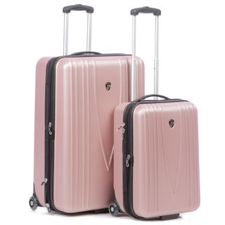 Heys USA Barcelona 2 piece Hardside Wheeled Luggage Set
