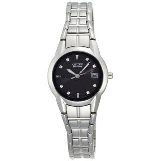 Citizen Eco Drive Womens Stainless Steel Dress Watch