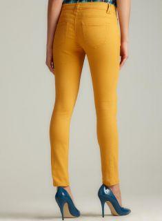 Romeo & Juliet Couture Mustard Skinny Color Denim