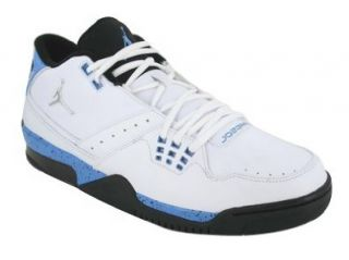 FLIGHT 23 BASKETBALL SHOES 9.5 (WHITE/MET SILVER/BLK/UNIV BLUE) Shoes