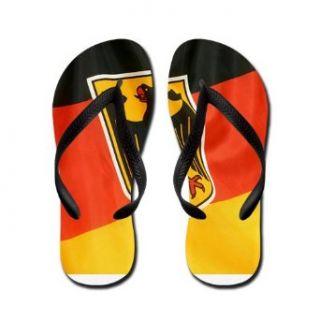 Artsmith, Inc. Mens Flip Flops (Sandals) German Flag