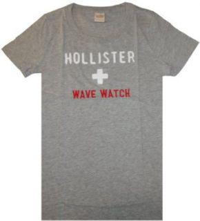 Womens Hollister Shirt Lifeguard Grey Size Large