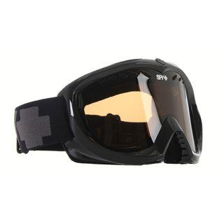 Spy Targa II Shiny Black Silver Mirror Lens Snowboard Goggles