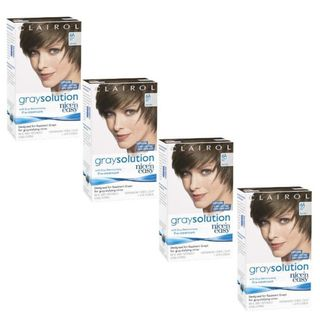 Clairol Nice n Easy Gray Solution 6A Light Ash Brown Hair Color