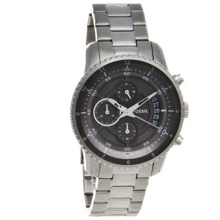 Fossil Mens Stainless Steel Chronograph Watch