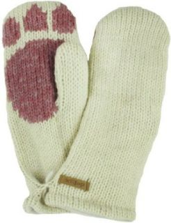 DeLux Kitty Paw White Animal Mittens Clothing