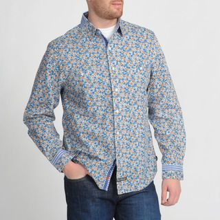 English Laundry by Christopher Wicks Mens The Woodley Floral Shirt