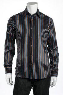 Michael Kors Mens Blue Dress Shirt Clothing