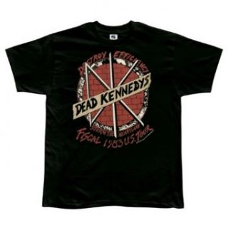 Dead Kennedys   83 Tour T Shirt   Small Clothing